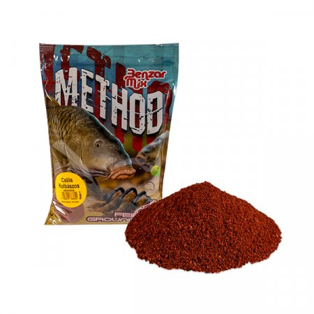 Benzar Mix Krmná Směs Séria Method Mix 800g - Varianta: Fish&scopex