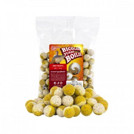 Benzar Mix Turbo Bicolor Boilies 250g - Típus: 16Mm Med-Ananás 250G