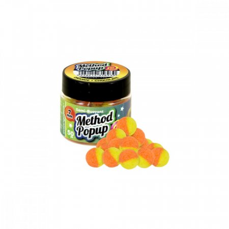 Benzar Mix Bicolor Method Pop Up 7mm - Varianta: Cesnak-Squid