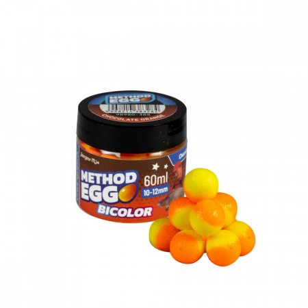 Benzar Bicolor Method EGG 10-12mm 60ml - Varianta: Betaine & Cesnak Zelené