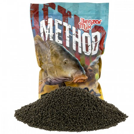 Benzar Mix Method Pelety 2mm 800g - Varianta: Green Betain