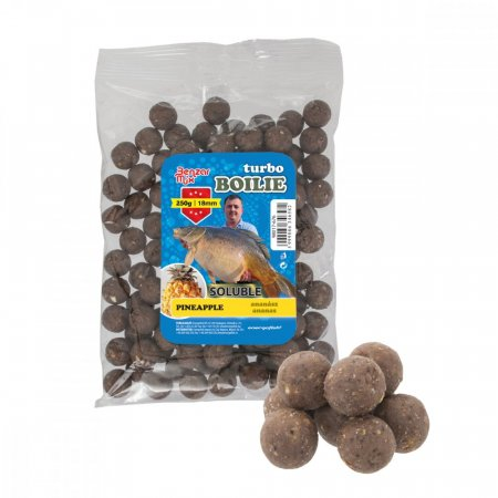Benzar Mix Turbo Soluble Boilies 250g - Típus: 18Mm Jahoda 250G
