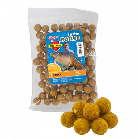 Benzar Mix Turbo Soluble Boilies 250g - Típus: 18Mm Med 250G