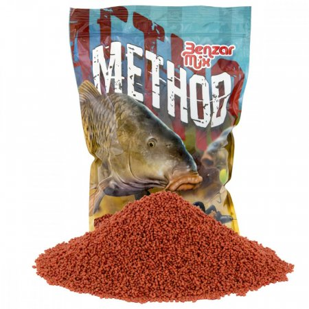 Benzar Mix Method Pelety 2mm 800g - Varianta: Red