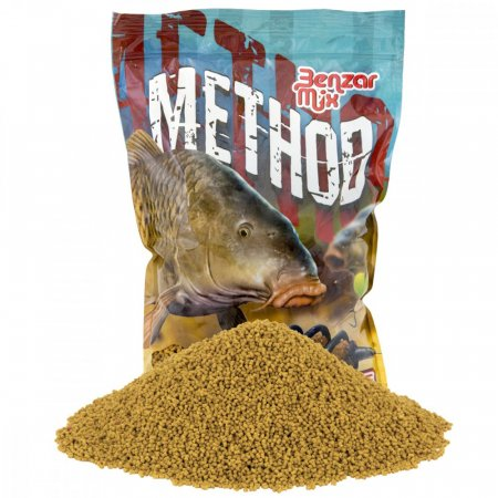 Benzar Mix Method Pelety 2Mm 800G - Varianta: Krill