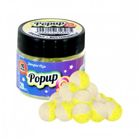Benzar Mix Bicolor Pop Up 10mm - Varianta: Jahoda-Med